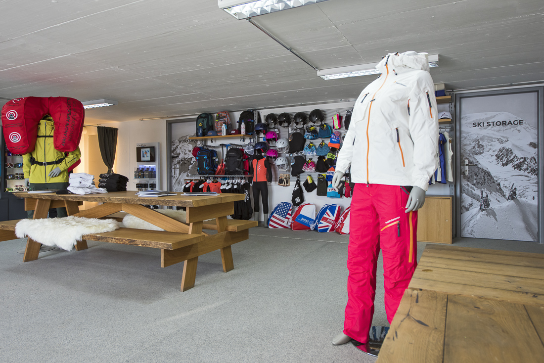 The cheapest and most convenient Verbier ski storage located right on the slopes