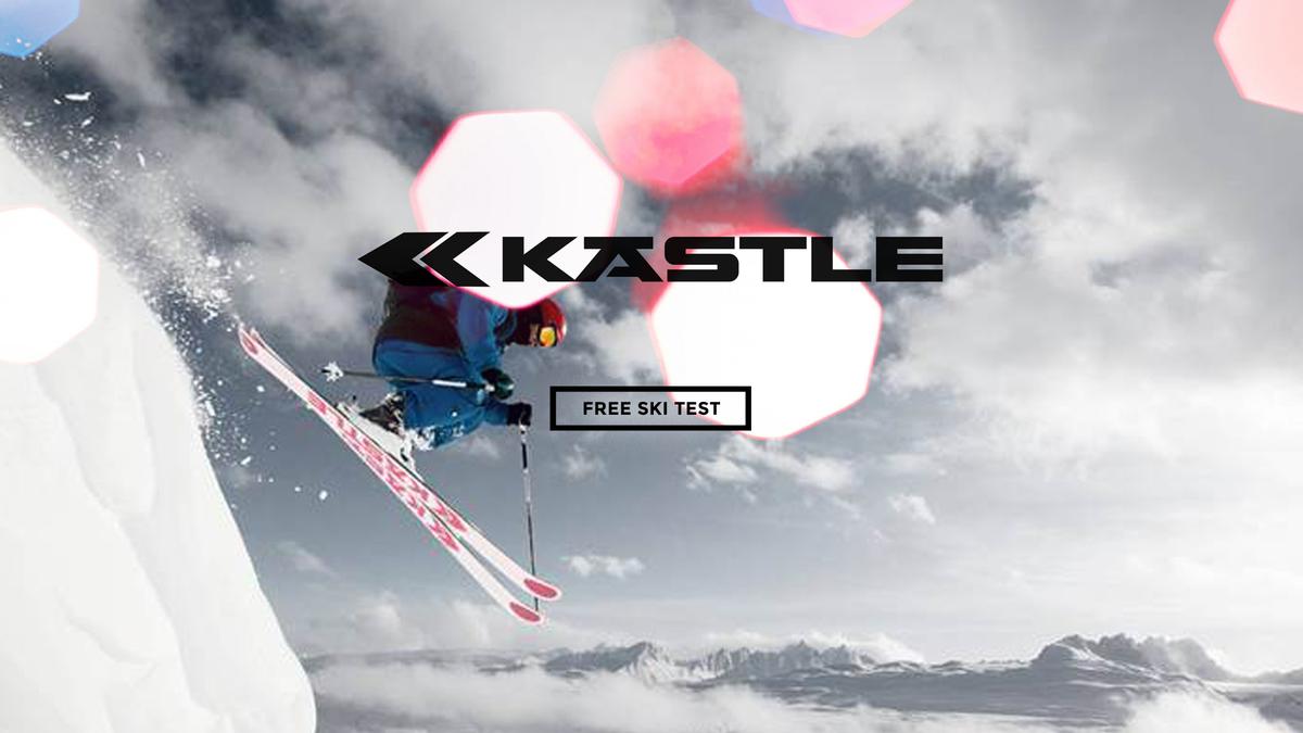 Free Kastle ski test at Ski Service Les Ruinettes - Verbier