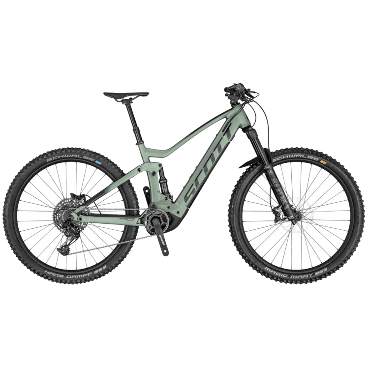 Scott Genius eRide bike rental Verbier