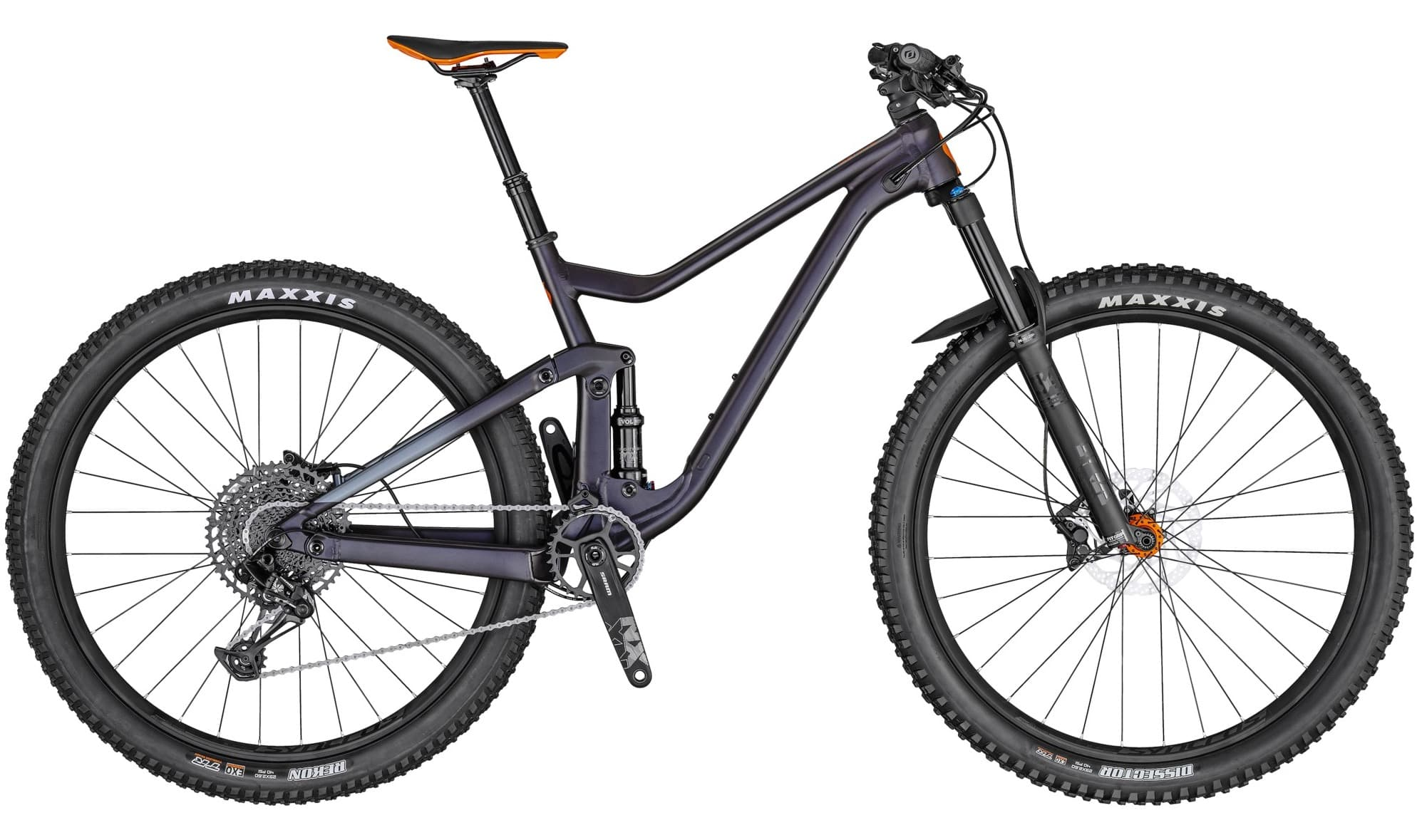 Verbier bike rental - Scott Genius