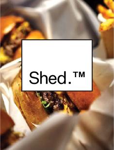 Shed-verbier