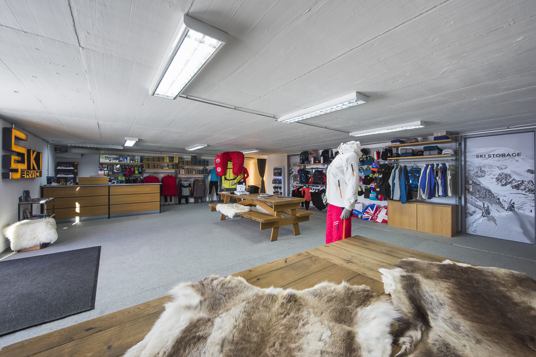 A look inside Ski Service Les Ruinettes