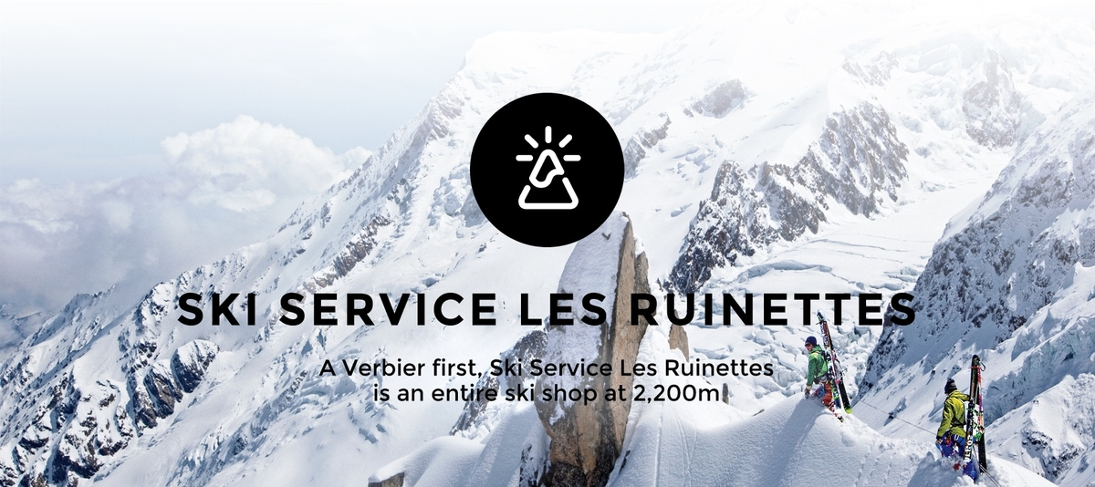 To summit up, Verbier's one and only mountain-top shop