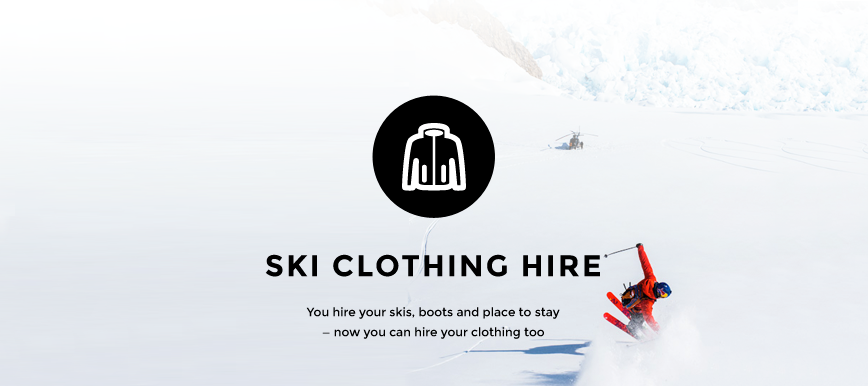 Verbier ski clothing hire at Ski Service