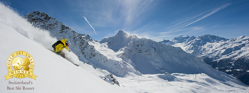 Verbier Switzerland's Best rated ski resort