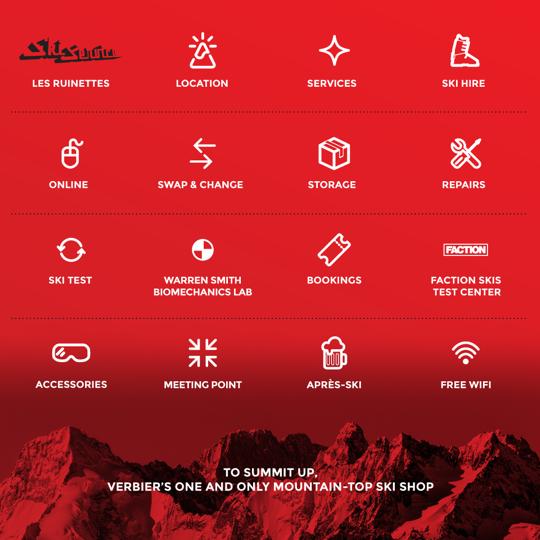 Ski Service Les Ruinettes - services