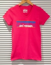 Verbier-T-shirt-pink-stars-ladies