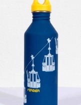 Verbier telecabine drinking bottle