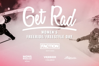 Get Rad Faction Women's Day Verbier