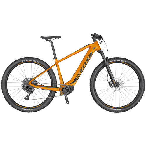 Scott ebike rental Verbier