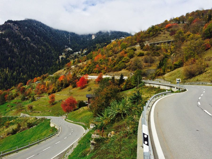 Verbier Quartober offer windy road