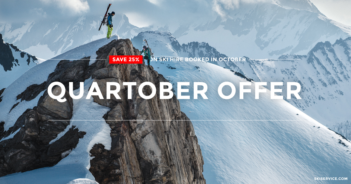 Verbier ski hire & ski passes - Quartober offer